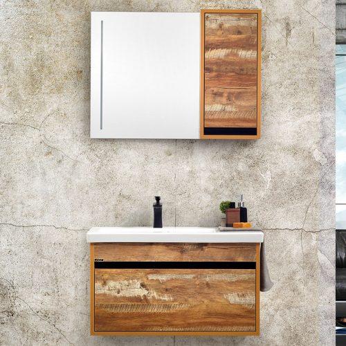 legno 80 cm banyo dolabı